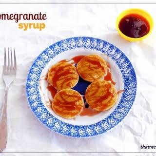 Pomegranate Syrup.