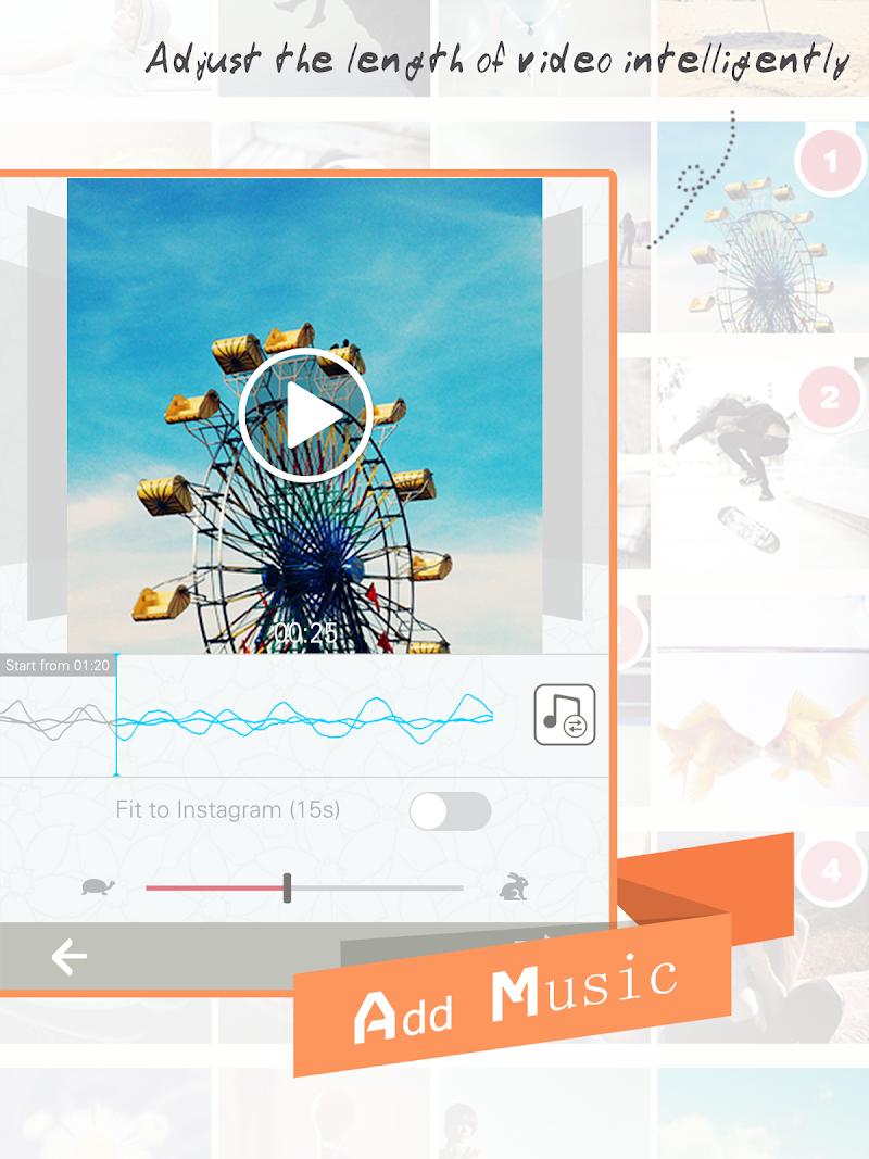Скриншот Slide Maker - Slideshow Editor