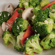 Broccoli Stir-Fried with Minced Garlic