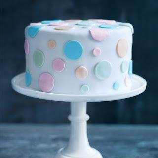Vanilla Polka Dot Cake.
