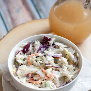 Apple Cider Vinegar Coleslaw