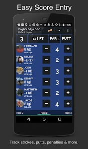 UDisc+ Disc Golf App screenshot 2