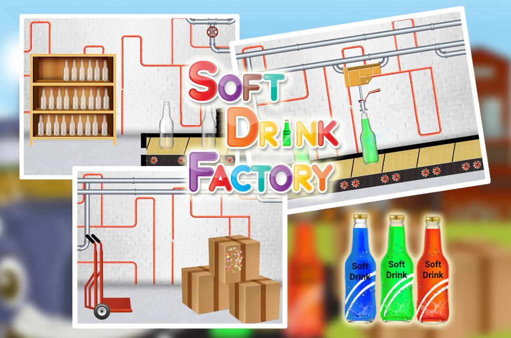 Soft Drink Factory Sim- screenshot