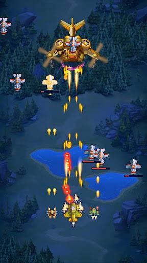 HAWK: Weltraum schießspiele. Flugzeug Schlachten screenshot 8