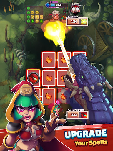 Super Spell Heroes - Magic Mobile Strategy RPG  screenshots 19