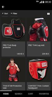 Paffen Sport Boxing Shop EN - náhled