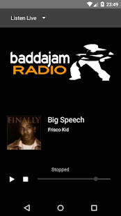 baddajam radio- screenshot thumbnail