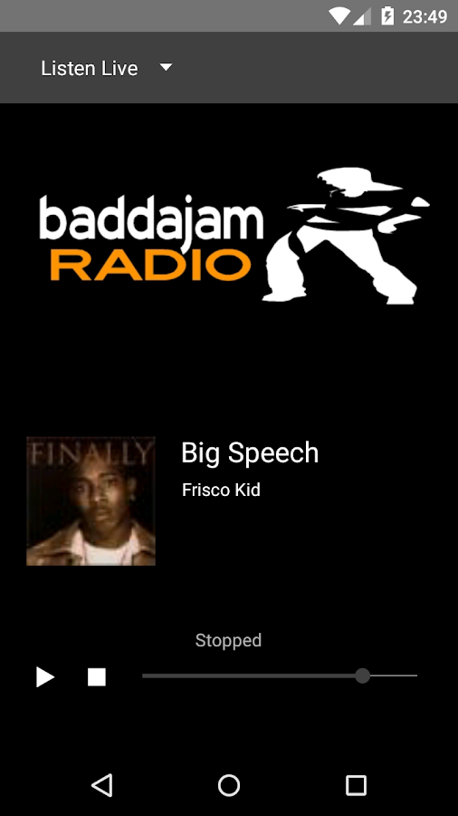 baddajam radio- screenshot
