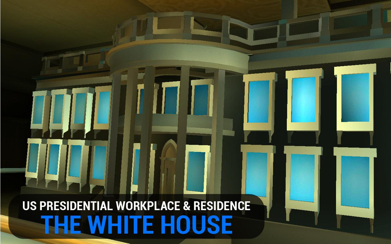3D White House Gallery VR- screenshot