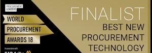 Procurement Leaders award finalist