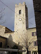 Photo: The 15th century bell tower of the Cathedral on Place Godeau.