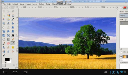 XGimp Image Editor 2.1.0.1 screenshots 1