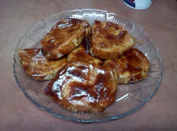 Lisa's Baked Glazed Barbecue Pork Chops Recipe