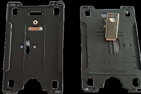 Korthållare CK Original med metallclip