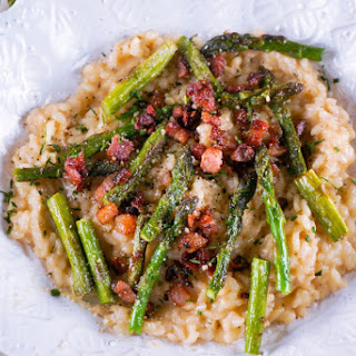 Asparagus and Pancetta Risotto Recipe
