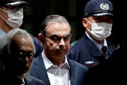 Former Nissan Motor chief Carlos Ghosn leaves the Tokyo Detention House in Tokyo, Japan, on April 25 2019.