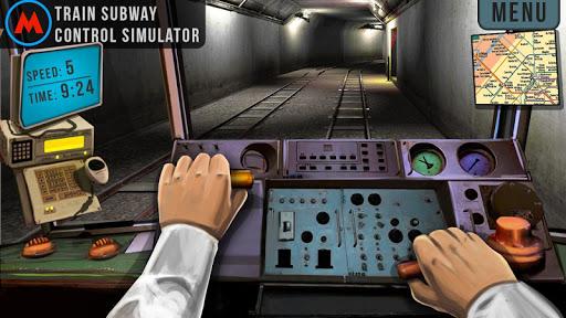 地铁3D控制模拟器