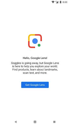 Google Goggles screenshot