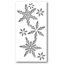 Memory Box Die - Tisdale Snowflake Collage