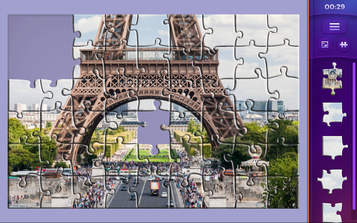 Jigsaw puzzles: Countries 🌎- screenshot