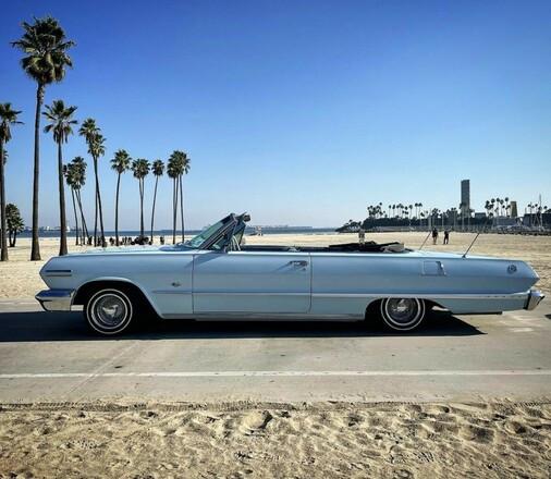 1963 Impala ss with hydralics Hire Huntington Beach