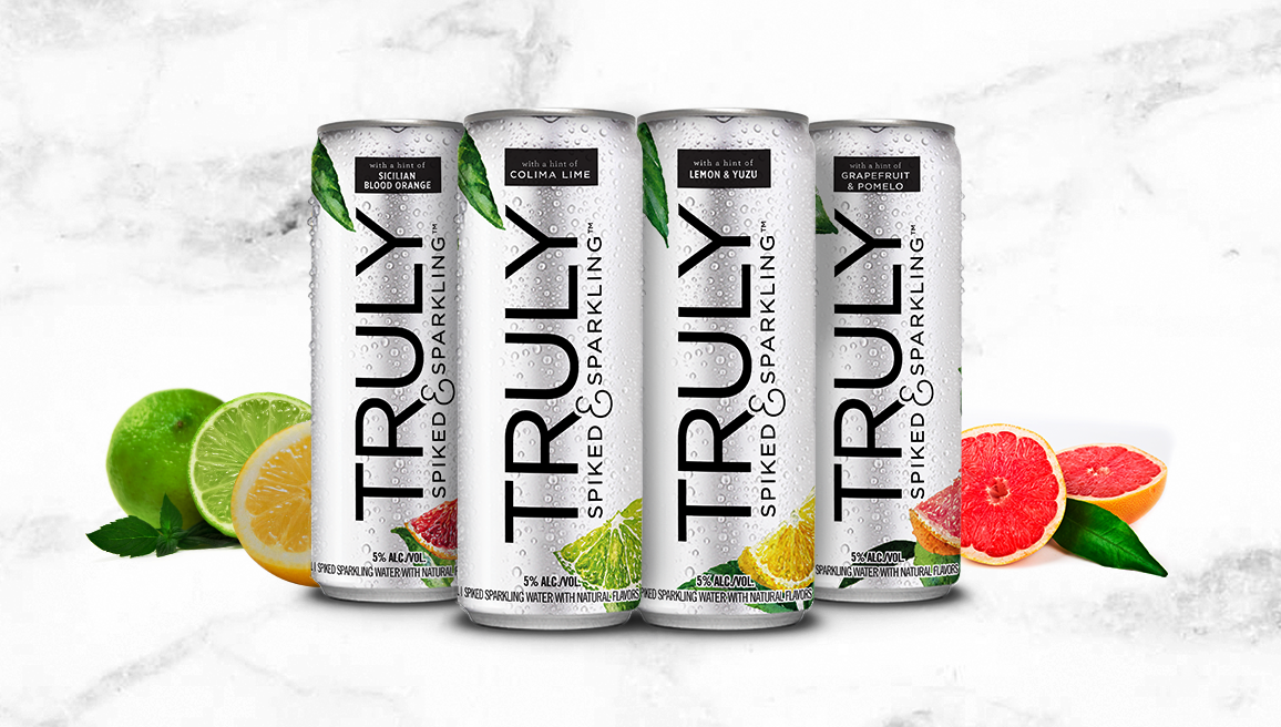 TRULY spiked & sparkling water