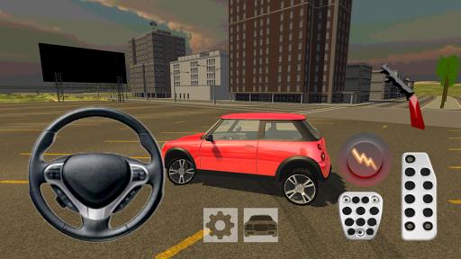 Extreme Mini Car Cooper Driver