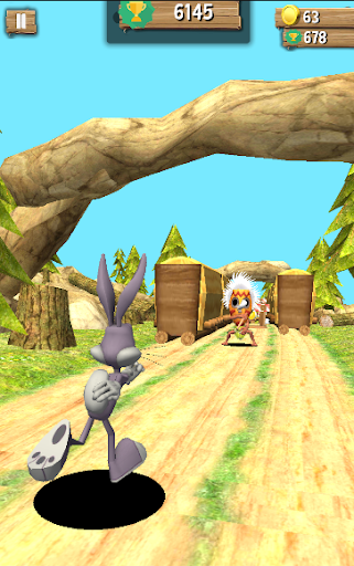 Bunny dash Vs Hunted jungle runner 2018  screenshots EasyGameCheats.pro 3