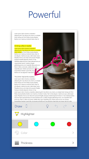 Microsoft Word: Write, Edit & Share Docs on the Go 16.0.12430.20120 screenshots 2