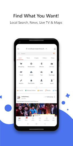 JD -Search, Shop, Travel, Food, Live TV, News 7.3.3 screenshots 1