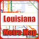 Download Louisiana USA Metro Map Offline For PC Windows and Mac
