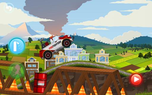 Fire Fighters Racing: Fireman Drives Fire Truck  screenshots 3