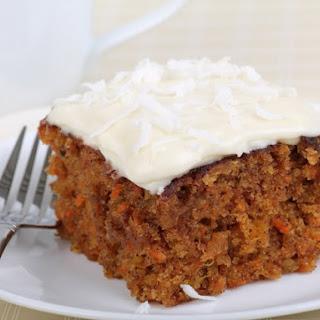 Carrot Tofu Cake.
