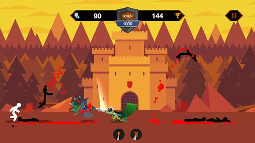 Télécharger Gratuit Stickman War - Super Dragon Warriors APK MOD (Astuce) screenshots 2