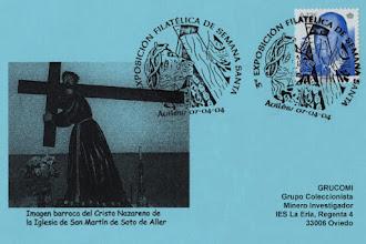 Photo: Matasellos en Avilés de con motivo de la III Exposición de Semana Santa 2004