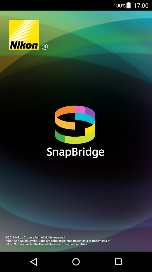 SnapBridge: captura de pantalla