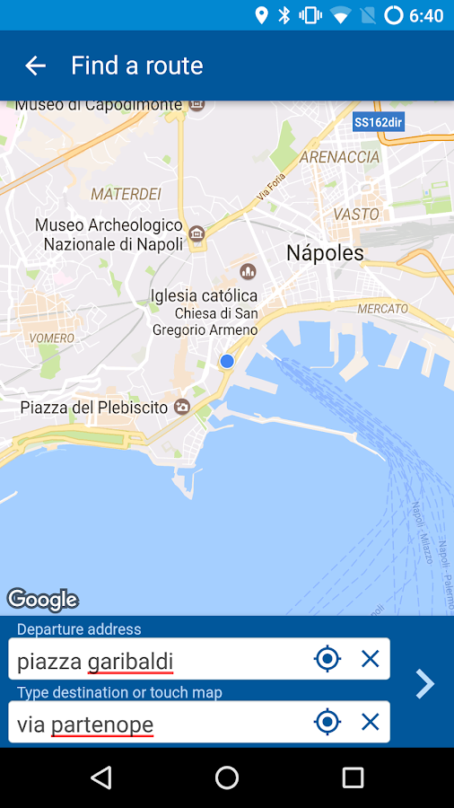 Gira Napoli- screenshot