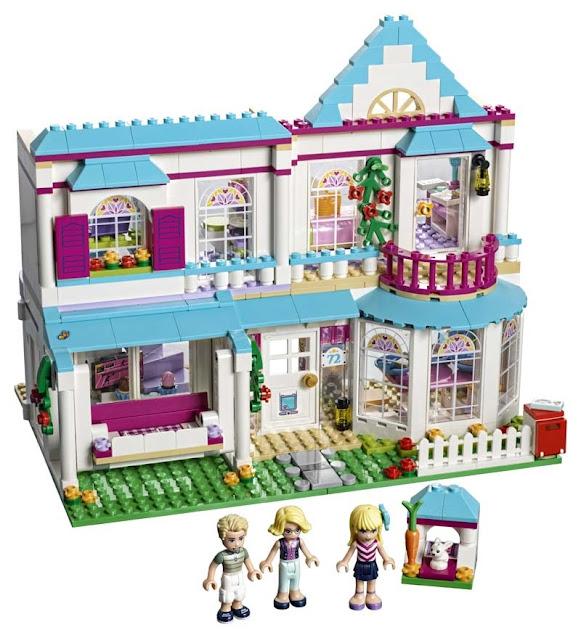 Contenido de Lego® 41314 Casa de Stephanie