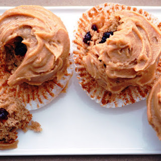 Peanut Butter and Jelly Cupcakes.