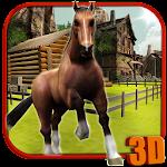 Wild Horse Simulator 3D Icon