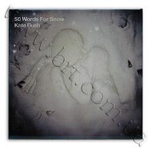 """Photo: Обложка альбома """"50 Words For Snow"""" знаменитой британской певицы Kate Bush на керамической плитке. Заказчик - Гала Радио"""