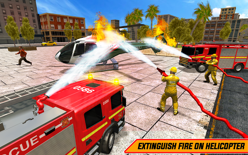 American FireFighter Truck : City Emergency Rescue 1.1 de.gamequotes.net 3