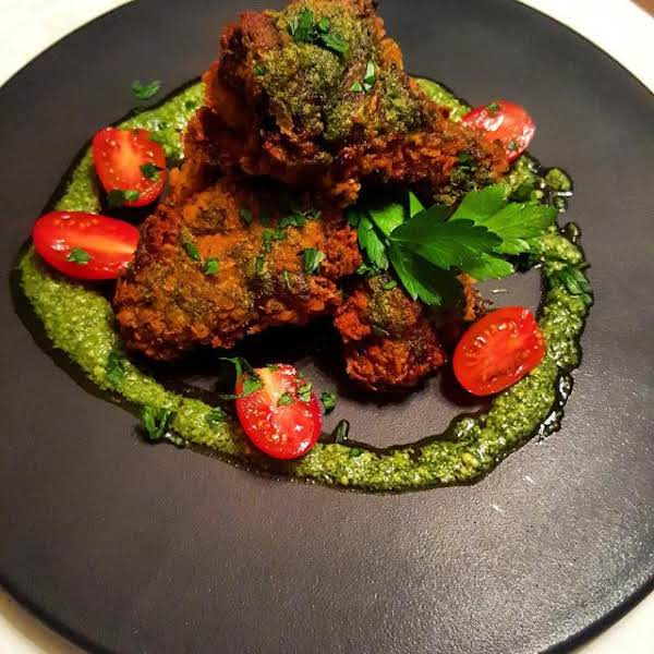 Genovese Wings, Pesto Chicken Wings Recipe