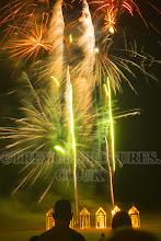 Photo: BEACH FIREWORKS
