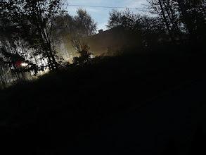 Photo: Dom sąsiadów o mglistym poranku