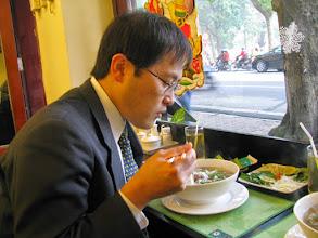 Photo: Breakfast at Hanoi (Dec. 19, 2008)