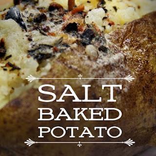 Salt Baked Potato