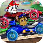 Paw Car Racing Puppy Rush Icon