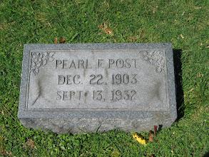 Photo: Post, Pearl F.
