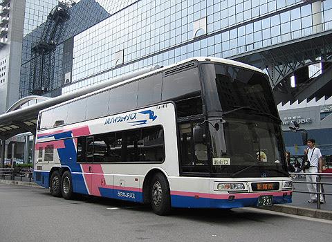 西日本JRバス「中央道昼特急京都号」 京都・291